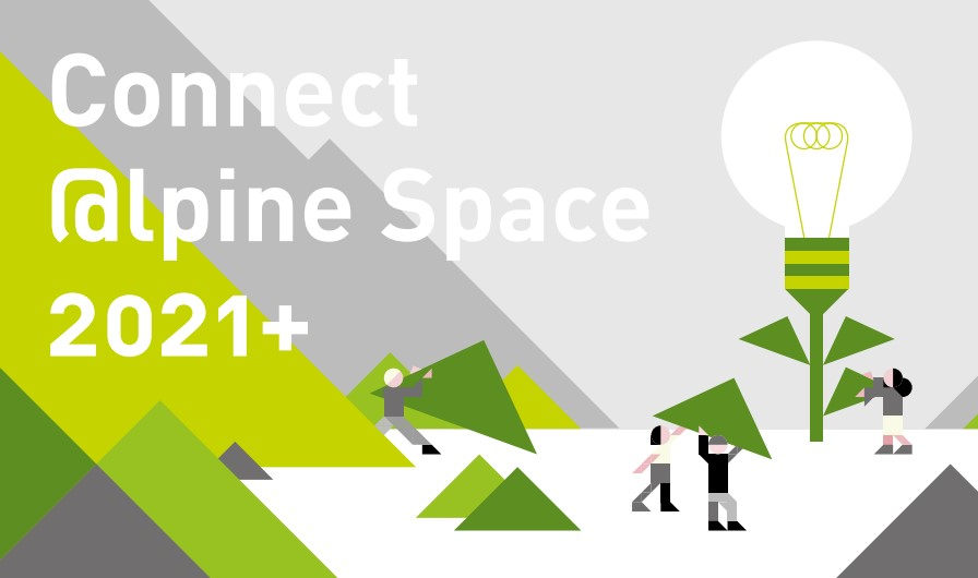 Illustration Alpine space Connect